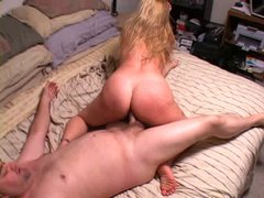 Chubby Anal Mature Blonde