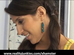 Skinny Teen Babysitter April Oneil Fucked Hard