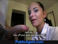 PublicAgent Bootylicious Katka fucks me for cash