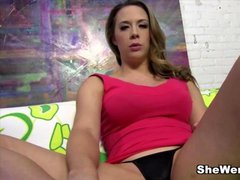 Chanel Preston anal fucked by Mandingos big black dick