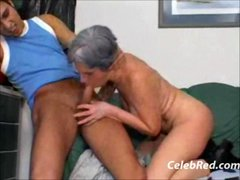 Granny Anal Pumping Cumshot Doggystyle Face Facial...