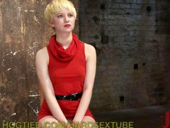 Captive Blonde Gets Sexually Punished