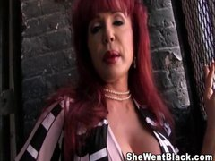 Big Tit cougar Sexy Vanessa gets fucked by a huge...