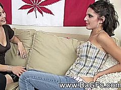 Hot lesbian action 15