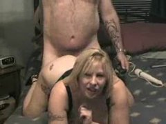 A hardcore fuck with a mature couple