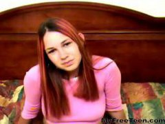 Young Heidi Casting Lollypop In Pussy By Snahbrandy...