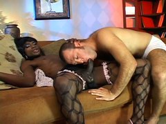 Black shemale fucks white ass