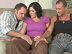 3 Claire Dames getting laid and gets fucked in the butt and anal