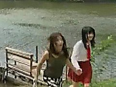 Japanese Lesbian Life 12 outdoor lesbian softcore hairy toys japanese pussy licking