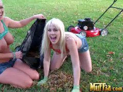 Molly Cavalli and Jayden Pierson are two playful busty lesbians