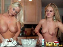 Molly Cavalli and Lexi Daniels are two lesbian friends both