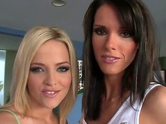 Alexis Texas and Jennifer Dark thinks