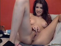 Teen Webcam Model with 2 dildos