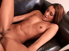 TEEN SLUT GETS NAILED HARD ON THE COUCH