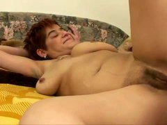 Mature demands anal sex from young man