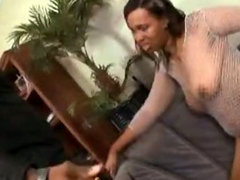 Big booty Monica Keyys is gettin fucked by big black cock.