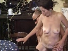 Mature 50 with hairy pussy
