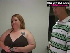 Open Pussy Bbw Fat Belly Giant Tits Yells For Dick Part 1