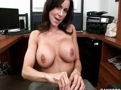 Kendra Lust An Office Blowjob