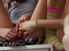 undress and rubbing my sweet clit