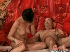 Black hair sexy naked girl gets real