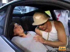 Dutch Amateur Stacey Gets Driving Lessons teen...