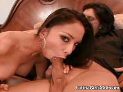 Hot Latina gets that wet pussy fucked