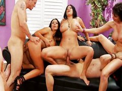 Fantastic group sex part 2