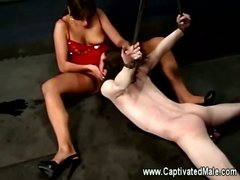 Nika noire making slave lick her pussy for her pleasure