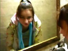Petite Natasha teenager naked at toilet