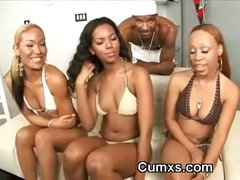 Sweet Sexy Ghetto Babes In Lingerie