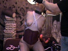 Dogg and Antonia squirting and gagging