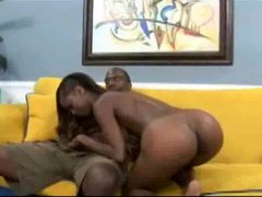 Nice Ebony Girl Gets a Facial by snahbrandy