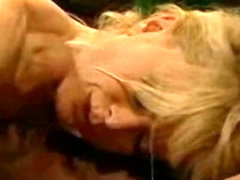 Nina Hartley and fucks big black cock Lexington Steel