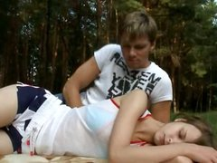 Beatas forest dream and anal undressing