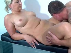 Mature finds his boner very pleasing