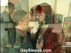 Philip&Dan femaleclothed crossdresser on video